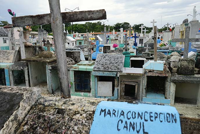 mexico graveyard