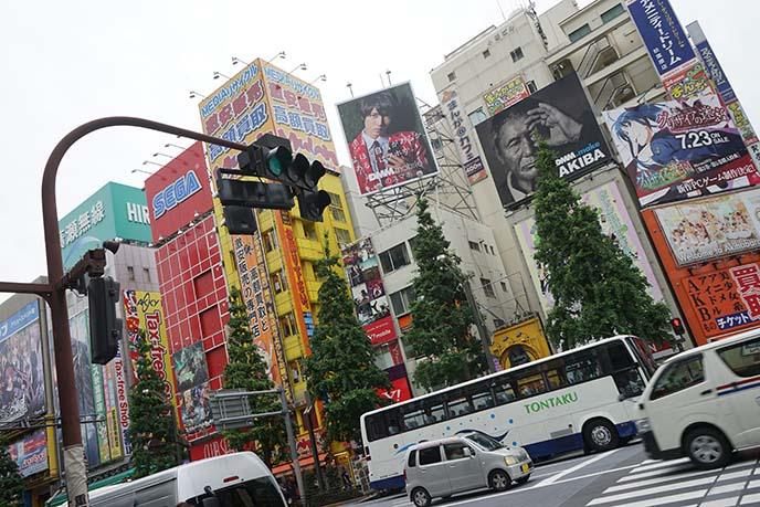 Akihabara buildings streets