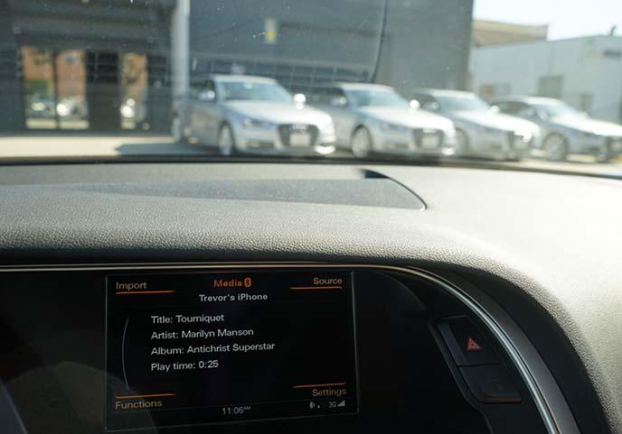 silver audi cars