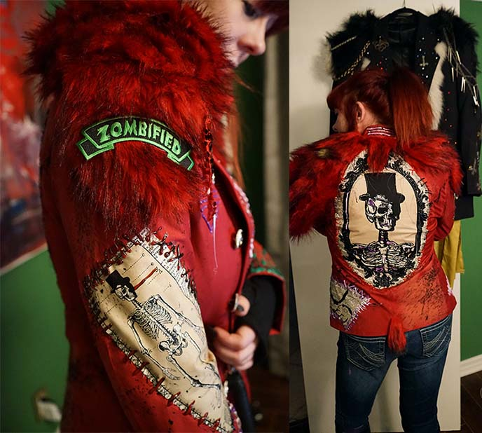 vampire couture zombie fashion