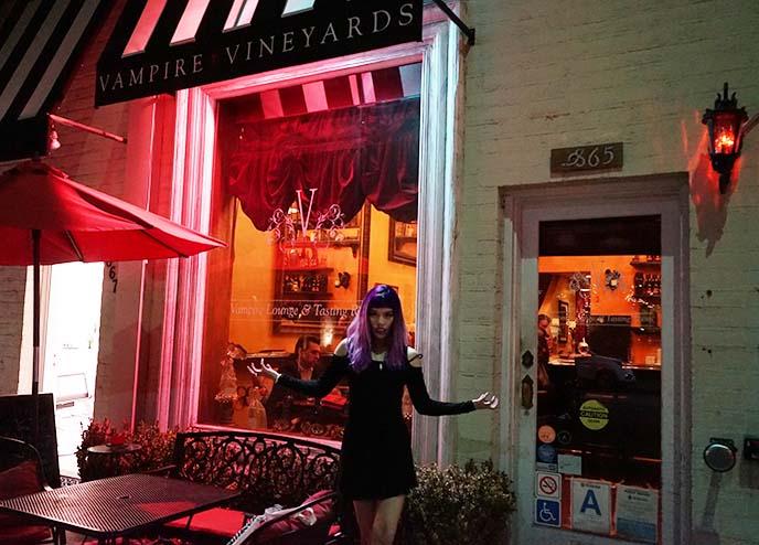vampire vineyard bar tasting lounge