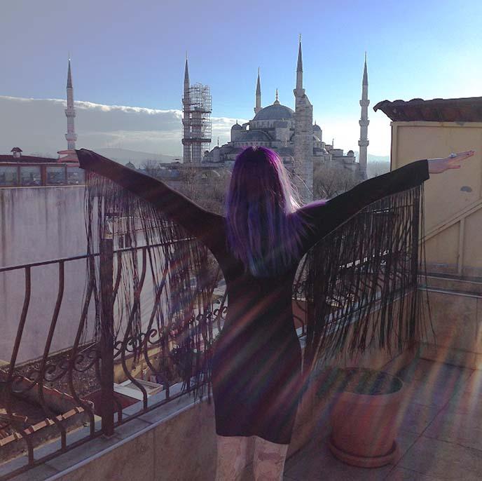 sultanahmet scenery istanbul