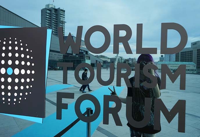 world tourism forum travel blogger