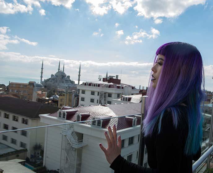 fashion blogger istanbul turkey