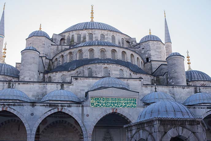 sultan ahmed mosque exterior