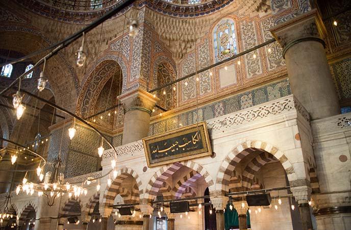 Sultan Ahmet Mosque inside