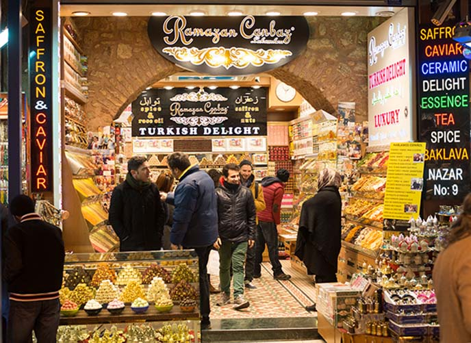 turkish delight spice market