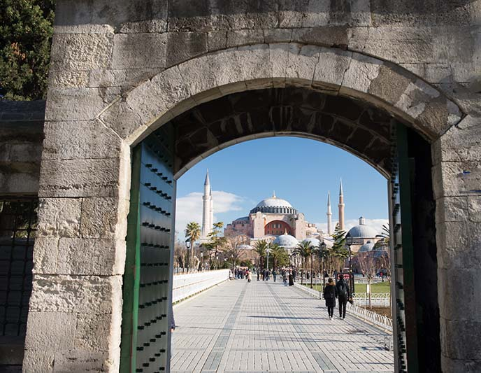 entrance tickets hagia sofia