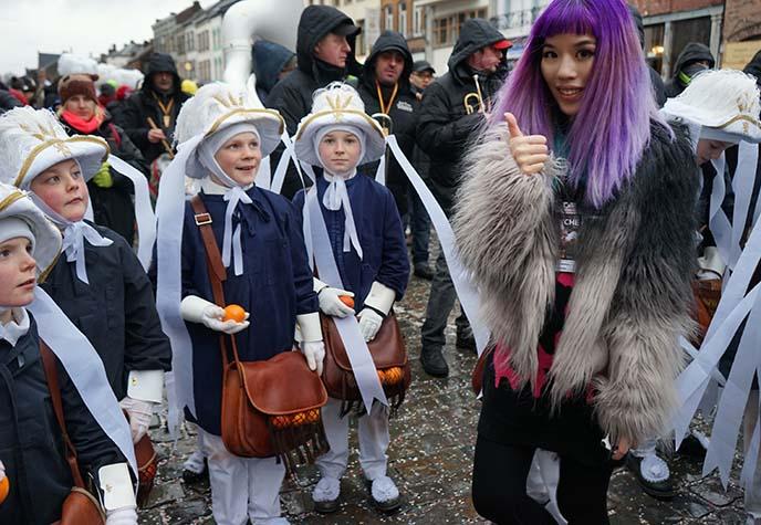 belgian festivals parades