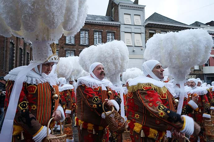 belgium wallonia gilles parade