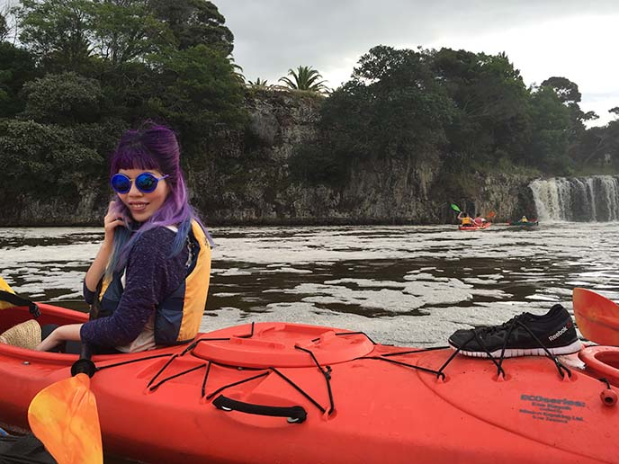 paihia kayaking, new zealand