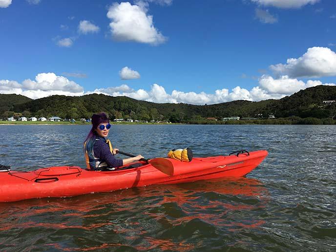 paihia kayak tour