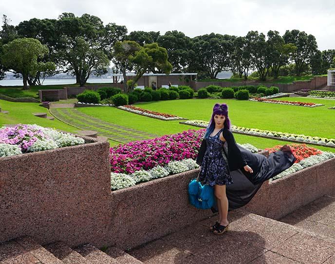new zealand gardens