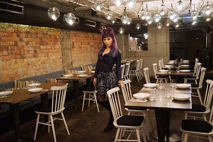 creative auckland restaurants, decor