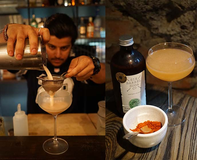gin tonic, cocktails cassia bartender