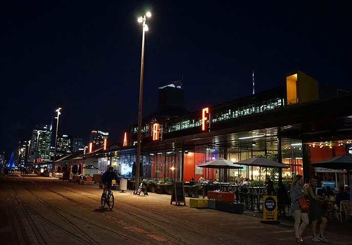Auckland wharf, Wynyard Quarter