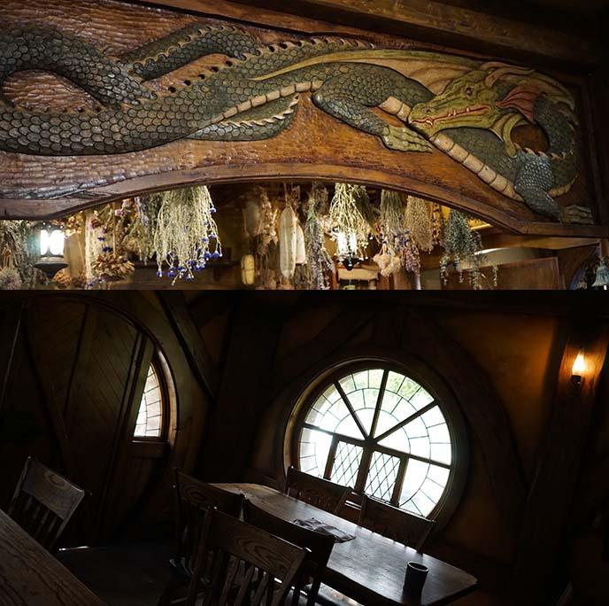 green dragon inn inside