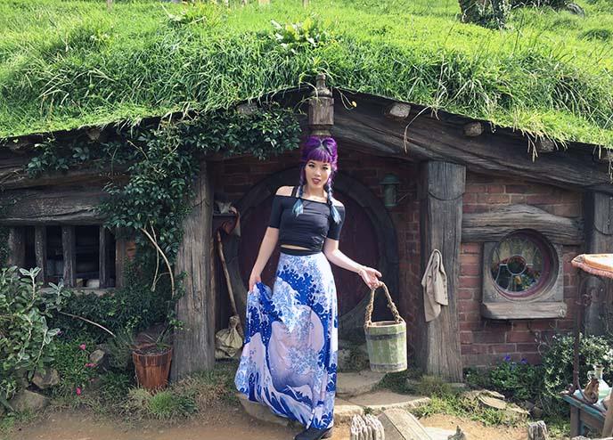 hobbiton tour, cosplay, costumes