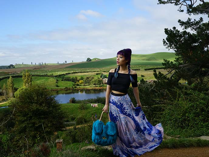 hobbit outfit, great wave skirt