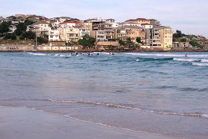 famous sydney beaches, bondi surfing