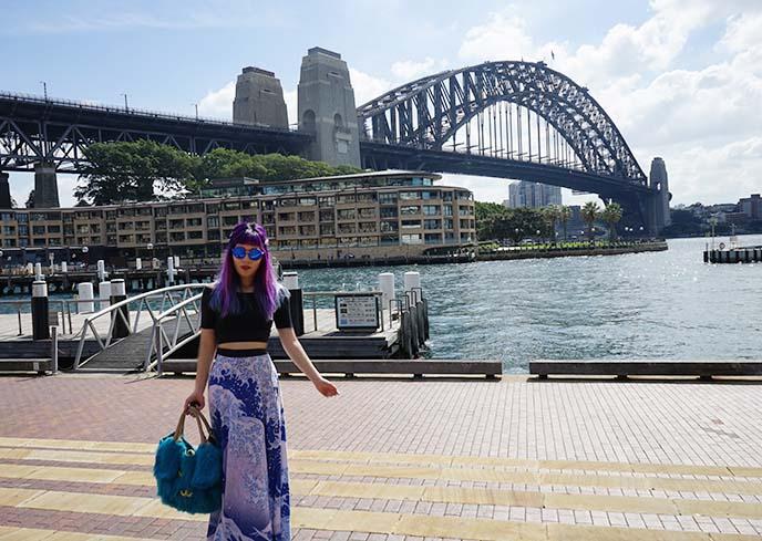 harbour bridge, famoous sydney australia bridge
