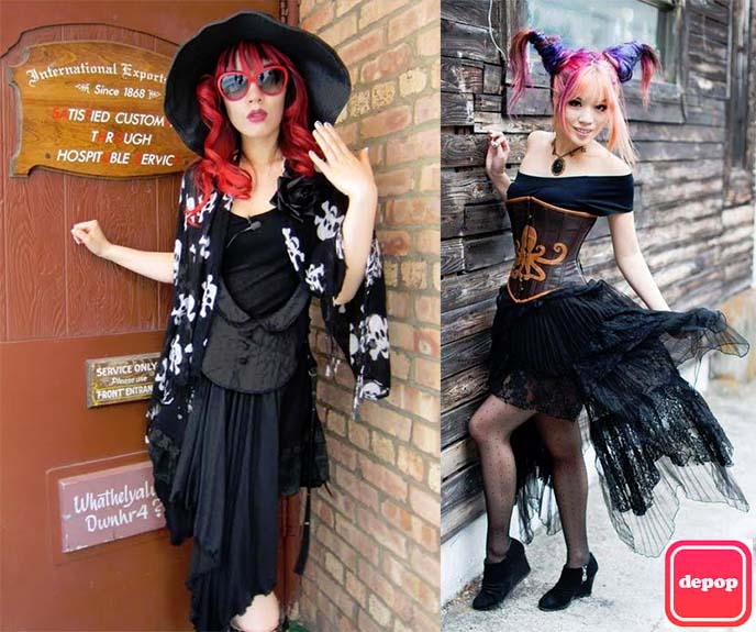0b8df0594b585 My Goth fashion blogger closet sale on Depop! Selling Gothic Lolita ...