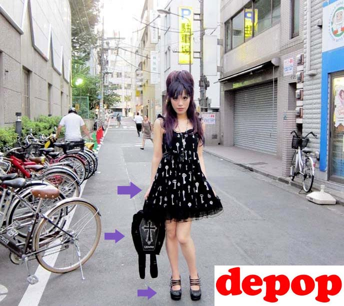 b93808a77d2ce My Goth fashion blogger closet sale on Depop! Selling Gothic Lolita ...