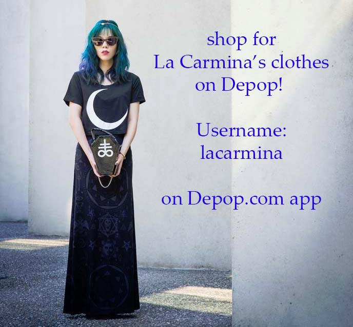 depop app, selling old clothes online