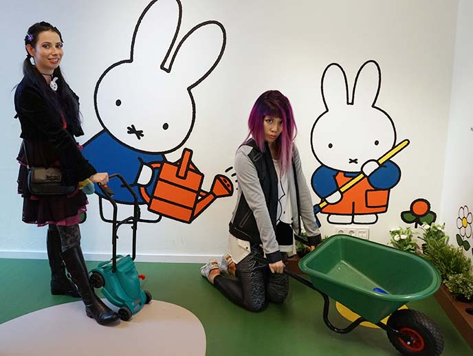 visiting miffy museum utrecht
