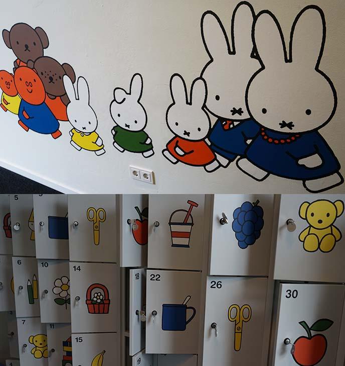 miffy family, bunny characters