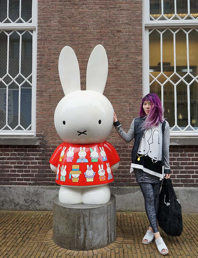 miffy art parade statues amsterdam