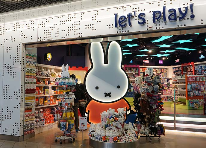 miffy airport store, schiphol amsterdam