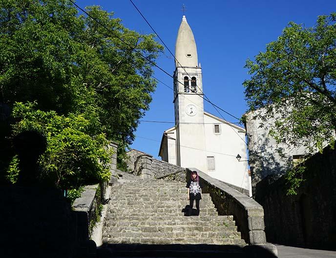 visit slovenia, church of prophet daniel