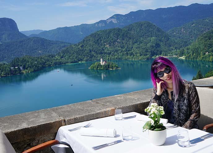 lake bled lunch, restaurant