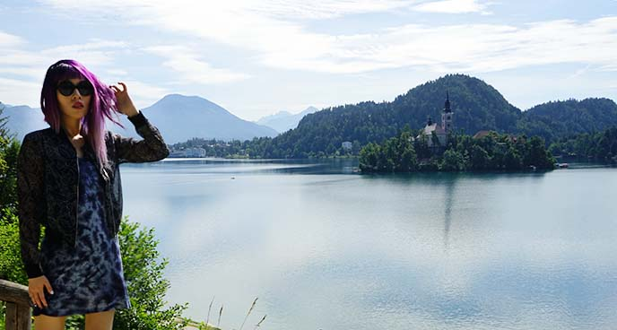 slovenia lake bled castle