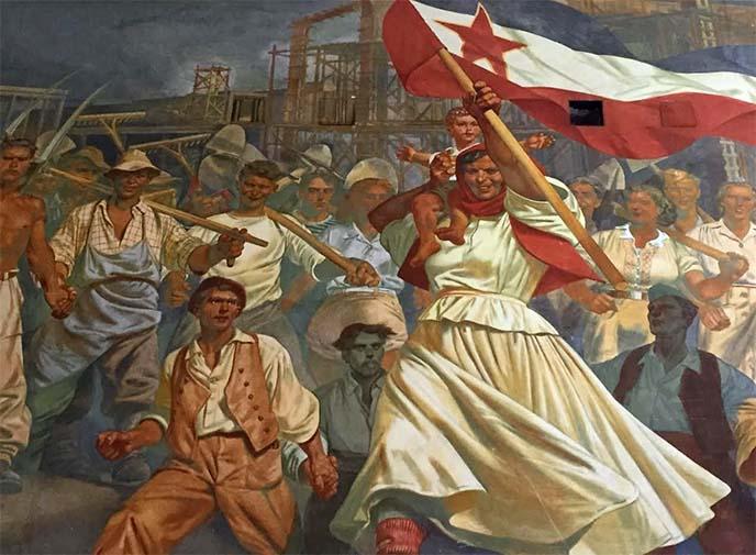 yugoslavia soviet communist art