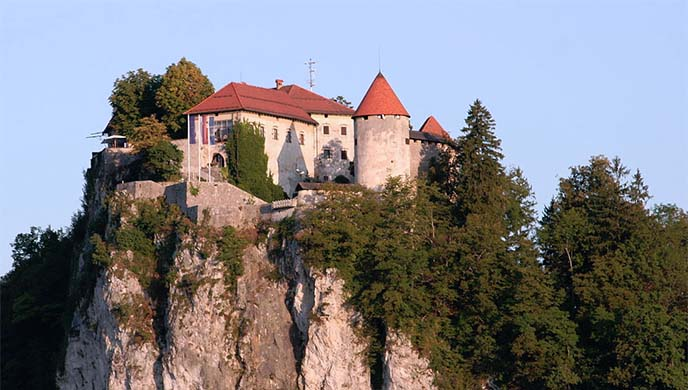 slovenia oldest castle, bled