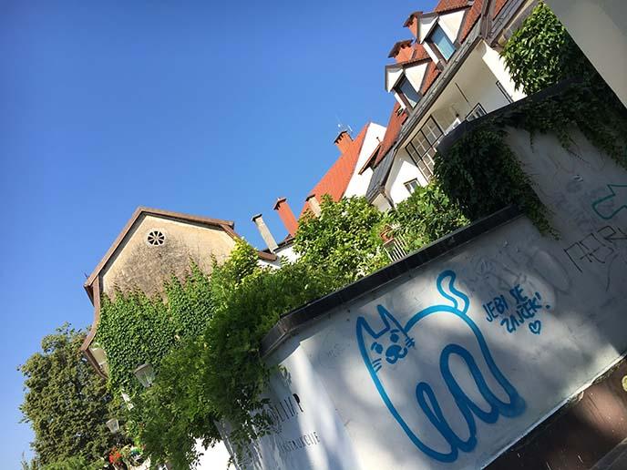 cat graffiti europe