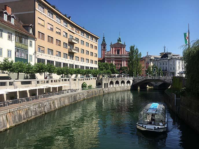 slovenia bridges, canals