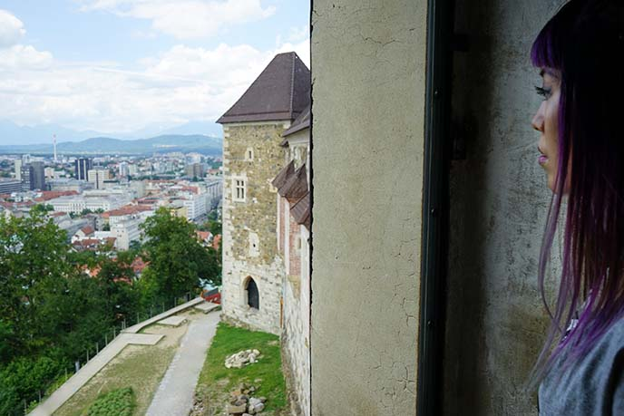 ljubljana castle lunch restaurant