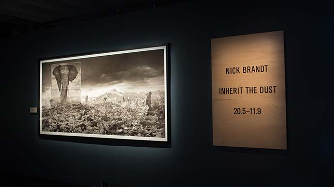 nick brandt inherit dust exhibit
