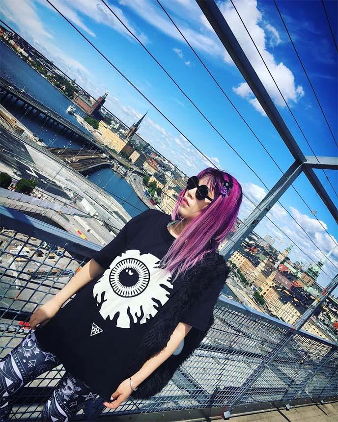 la carmina blog goth alternative fashion travel style