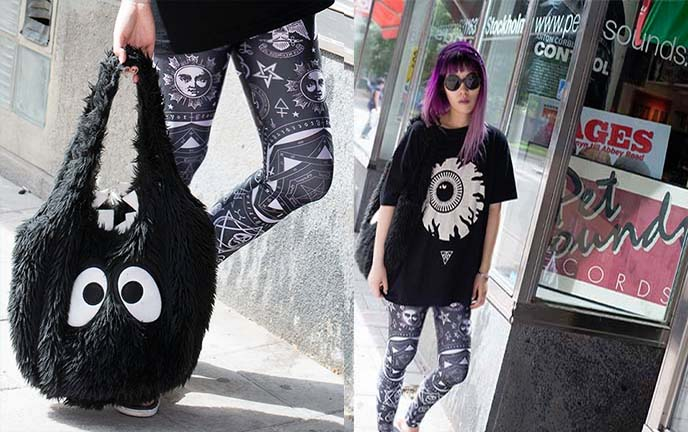 killstar leggings goth pants