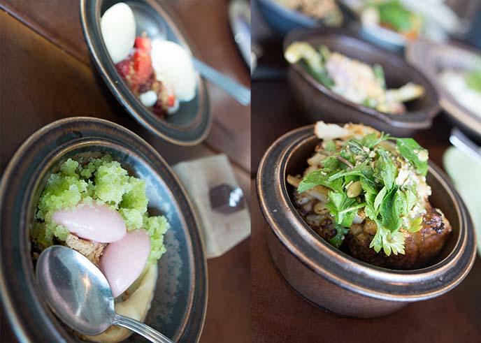 Oaxen Krog & Slip food, menu