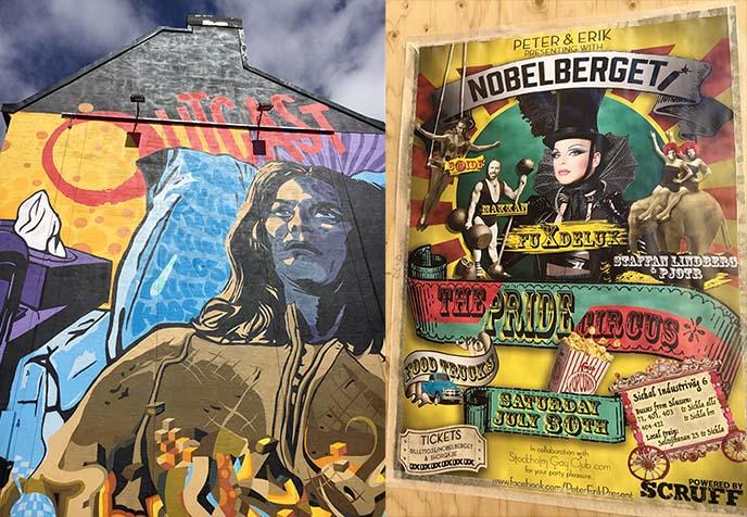 hornstull mural, artists