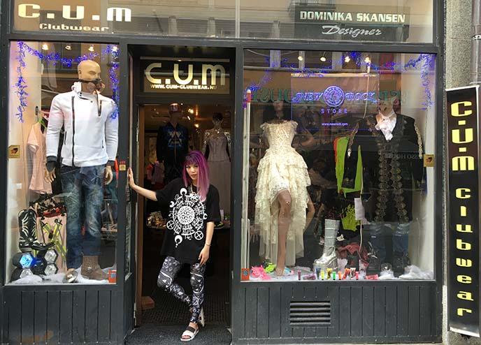 swedish gothic alternative rave clothing