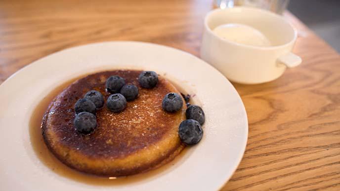 swedish blueberry pancake