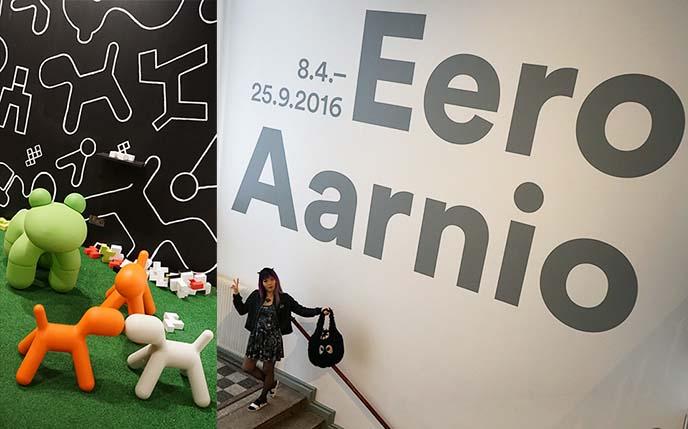 eero aarnio design museo retrospective, museum