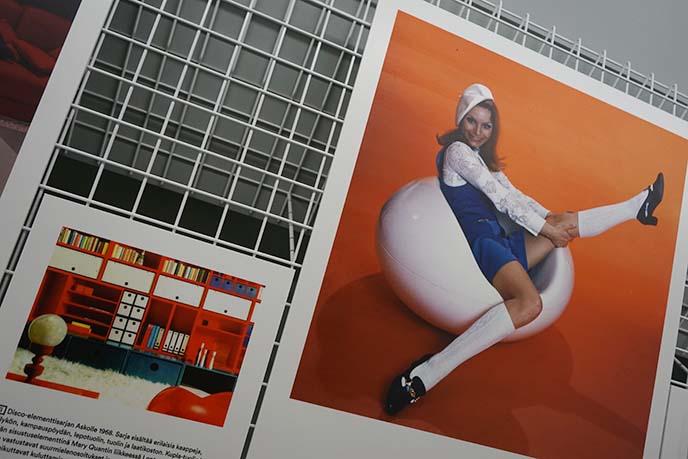 60s eero aarnio posters, design