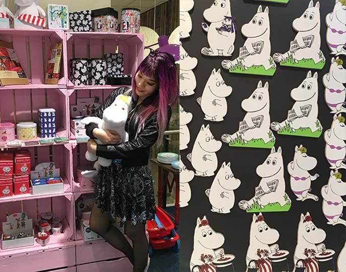moomin gift shops, finland